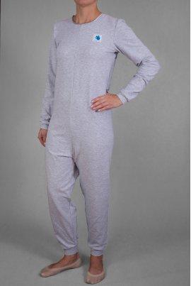 Kombinezon z długimi rękawami i długimi nogawkami dres nieocieplany